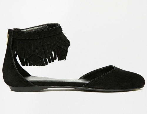 NL fringed shoes